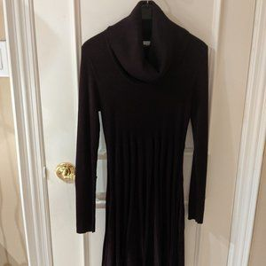 Calvin Klein Cowl Neck Sweater Dress - Size Small